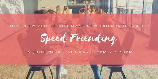 Speed Friending - Make New Friends in Perth (20s&30s)