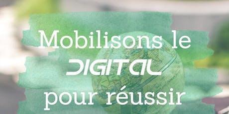 Mobilisons le digital pour réussir à l'international ! billets
