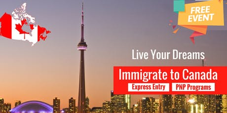 Let's Talk Canada Immigration - Programs, Eligibility & Admissibility tickets