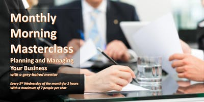 Monthly Morning Masterclass - Planning and Managin