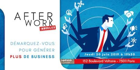 Afterwork Immobilier - Paris 11 - 20 juin 2019 billets