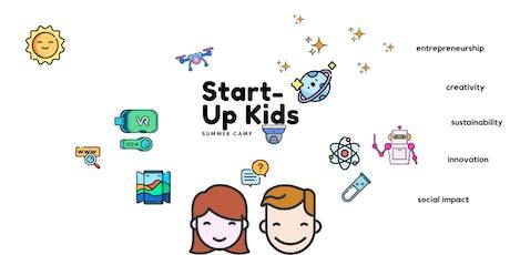 Start-Up Kids Summer Camp | Week 1 - Grades 6-8 tickets