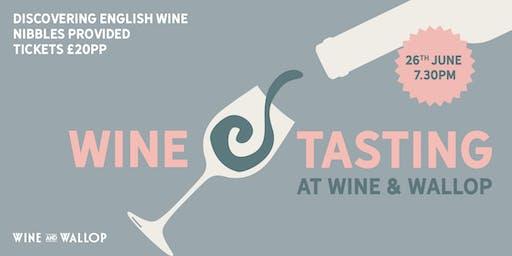 Wine Tasting at Wine & Wallop