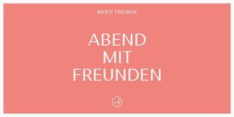 """Abend mit Freunden No.9: Sophia Schneider-Esleben Ausstellung Vernissage & Talk """"Was können nachhaltige Mode Konzepte vom Bauhaus lernen?""""  Tickets"""