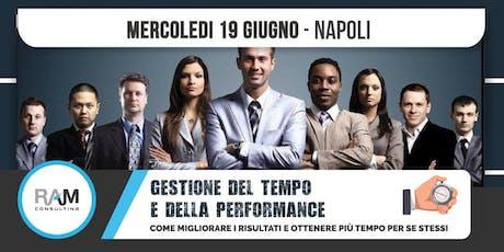 GESTIONE DEL TEMPO E DELLA PERFORMANCE biglietti