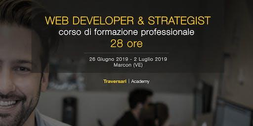 Corso di formazione professionale Web Developer & Strategist