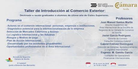 Taller de Introducción al Comercio Exterior entradas