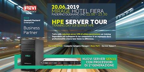 HPE SERVER TOUR 2.019 Milano biglietti