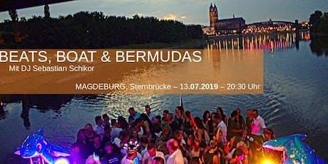 Beats, Boat & Bermudas - Dj Sebastian Schikor Tickets