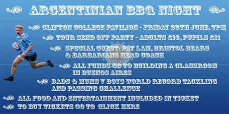 Argentinian BBQ Night tickets