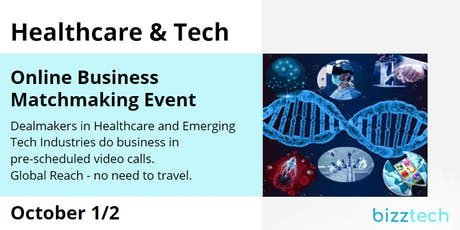 Healthcare & Tech | October 1/2 tickets