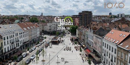 Gin Jeudi ☼ Apéro de The 1040 ☼ Sofitel Brussels Europe