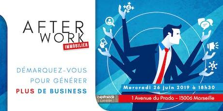 Afterwork Immobilier - Marseille - 26 juin 2019 billets