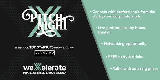 weXelerate: Pitch Night Batch 4