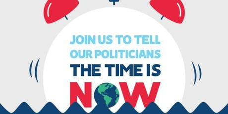 'The Time is Now' - Join Friends of the Earth for the Mass Lobby tickets