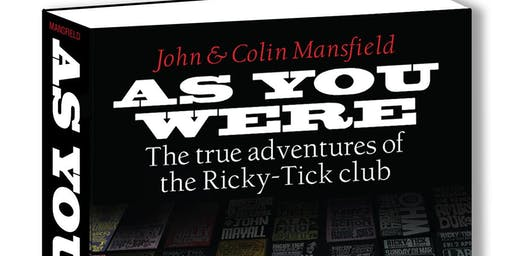 As You Were: The Ricky-Tick Book Launch
