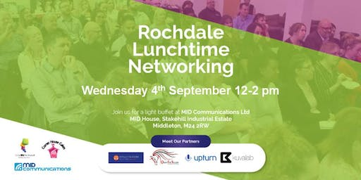 Rochdale Doing Biz For Yourself Lunchtime Networking