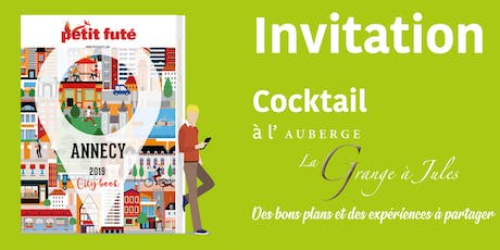 COCKTAIL SORTIE NOUVELLE FORMULE PETIT FUTÉ - CITY BOOK ANNECY 2019 tickets
