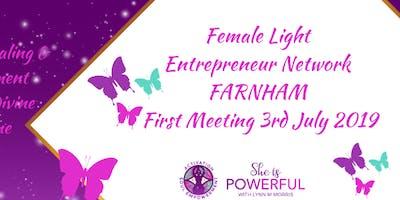 Female Light Entrepreneur Network First Meetup  FARNHAM