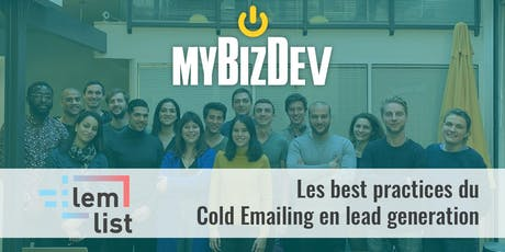 Les Best practices du Cold Emailing en lead generation billets