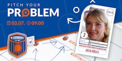 Pitch your Problem [THEMA STEUERN] mit Julia Rölf