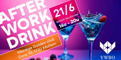 AfterWork drink @ Manège Golden Club Mollem tickets