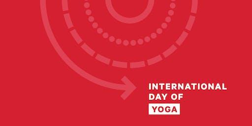 lululemon JPO | International Day of Yoga (IDY) 2019