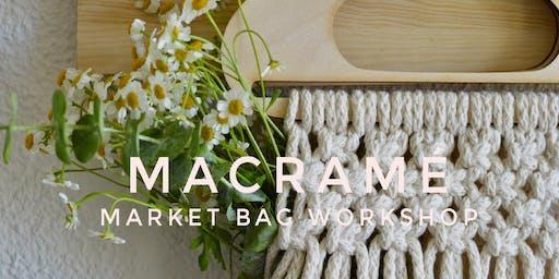 Macramé Market Bag Workshop