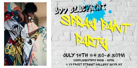 Odd Blueprint: Spray Paint Party tickets