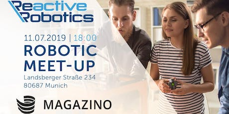 Robotic Meet-up Magazino & Reactive Robotics Tickets