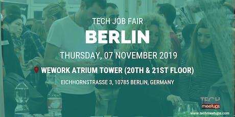 BERLIN TECH JOB FAIR AUTUMN 2019 Tickets