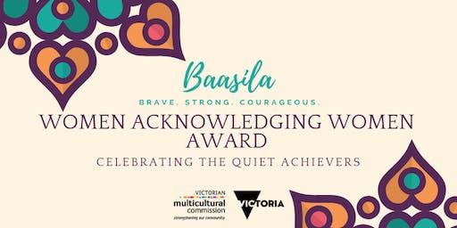 2019 Women Acknowledging Women Award Event