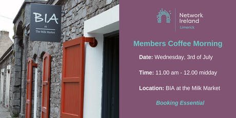 Network Ireland Limerick - July Coffee Morning tickets