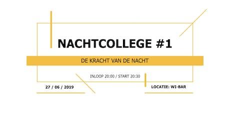 LNR presents Nachtcollege: De kracht van de nacht. tickets