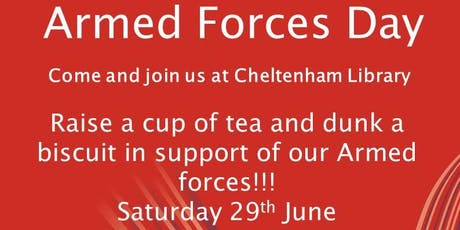 Cheltenham Library - Armed Forces Day  tickets