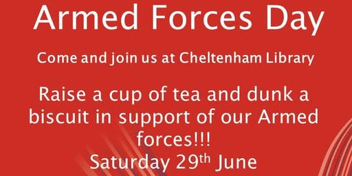 Cheltenham Library - Armed Forces Day