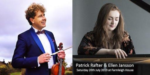 Patrick Rafter & Ellen Jansson