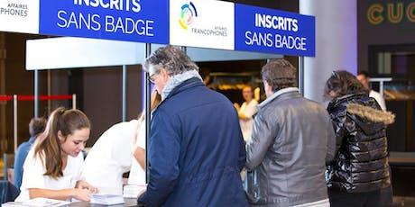 Rencontres d'Affaires Franco. patronnées par Secrétaire Affaires Etrangères billets