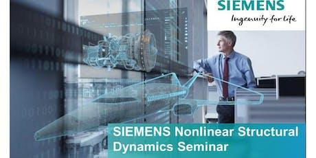 SIEMENS Nonlinear Structural Dynamics Seminar tickets