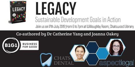 Dr. Catherine Yang's and Joanna Oakey's B1G1 Book Launch tickets
