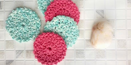 Crochet cotton pads - July tickets