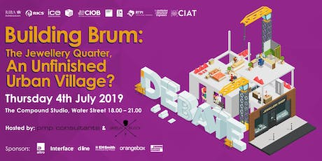 Building Brum: The Jewellery Quarter, An unfinished urban village? tickets