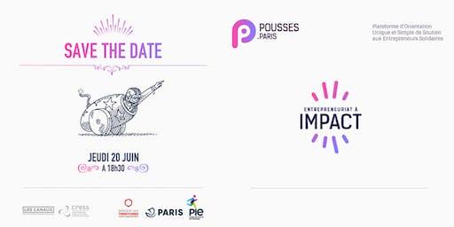 Soirée de lancement Pousses | pour un entrepreneuriat engagé