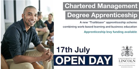 OPEN DAY: Chartered Management Degree Apprenticeship - Enrol your future leaders in our trailblazing apprenticeship scheme tickets