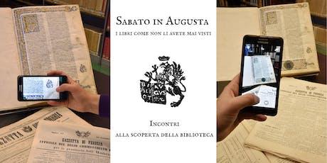 Sabato in Augusta: i libri come non li avete mai visti biglietti