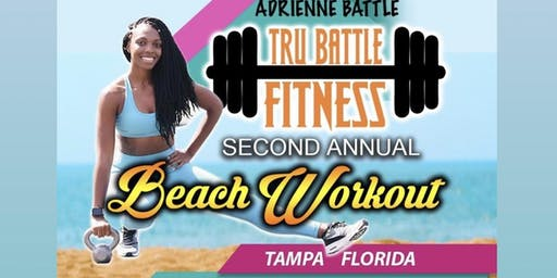 Tru Battle Fitness Second Annual Beach Workout