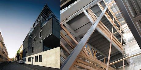 MILANO - Workshop di cantiere. Edificio pluripiano con struttura in acciaio biglietti