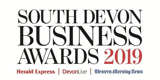 Free Workshop: South Devon Business Awards 2019 - Get your nomination noticed
