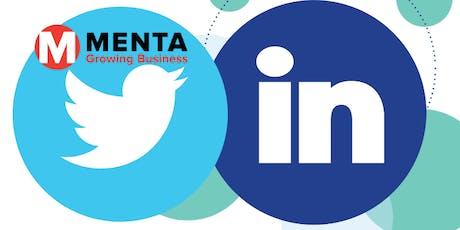 Twitter & LinkedIn Social Media Training  tickets