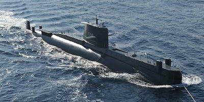 Visita guidata al Sottomarino Todaro - Ormeggio area demaniale zona Stazioni Marittime